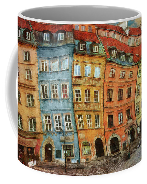 Coffee Mug featuring the photograph Old Town In Warsaw # 32 by Aleksander Rotner