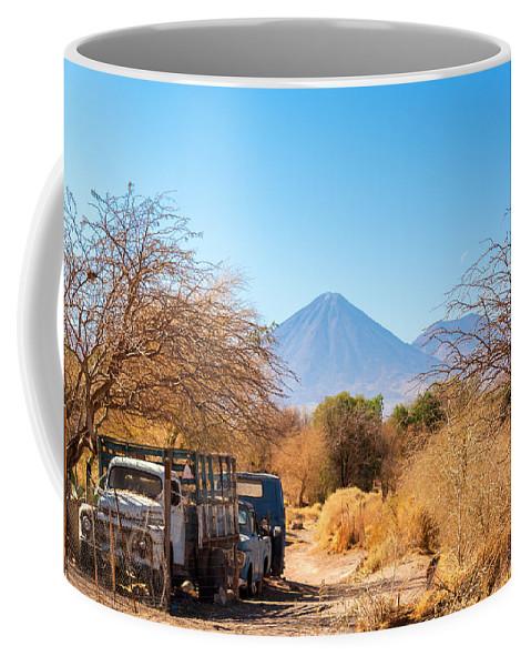 Atacama Coffee Mug featuring the photograph Old Truck In San Pedro De Atacama by Jess Kraft