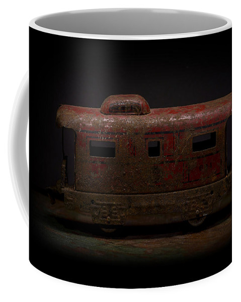 Old Train Coffee Mug featuring the photograph Old Vintage Caboose Number 624 by Art Whitton