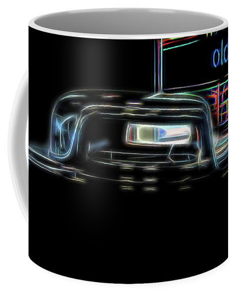 Auto Coffee Mug featuring the digital art Old West by Elijah Knight
