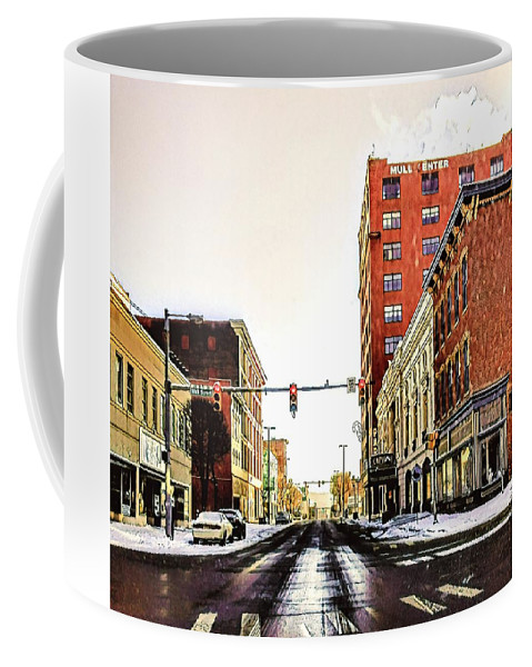 Coffee Mug featuring the photograph Old Wheeling, Wv by Lorie Kash