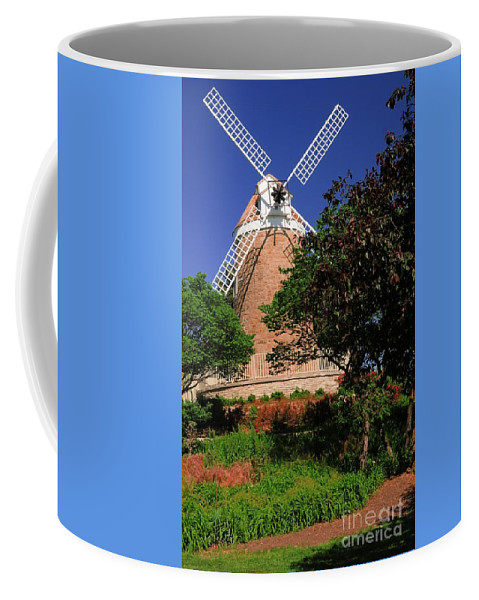 Old Coffee Mug featuring the photograph Old Windmill by Kathleen Struckle