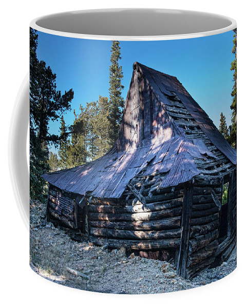 Rustic Coffee Mug featuring the photograph Old Witch Hat Gold Mine by James BO Insogna