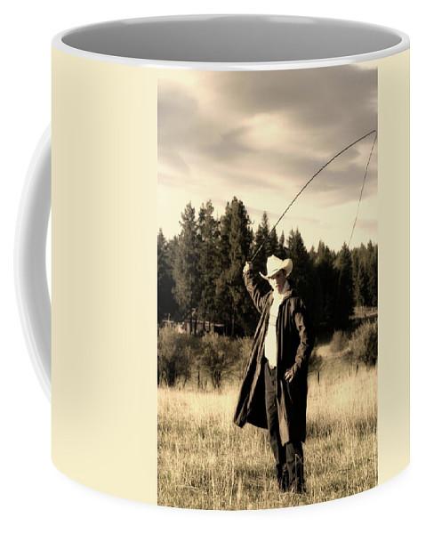 Cowboy Coffee Mug featuring the photograph Old World Cowboy by Ruth Eich