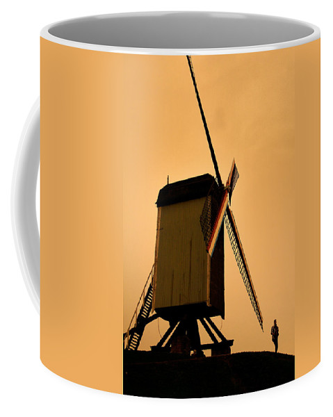 Lawrence Coffee Mug featuring the photograph Old World Sunset by Lawrence Boothby