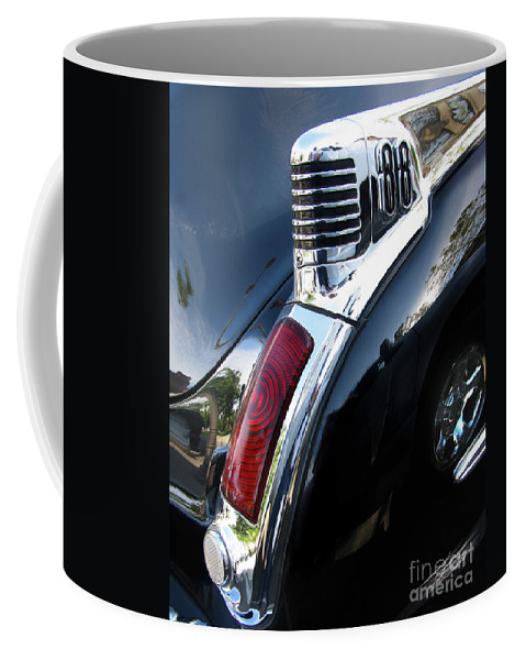 Oldsmobile 88 Coffee Mug featuring the photograph Old's 88 Tailend by Peter Piatt