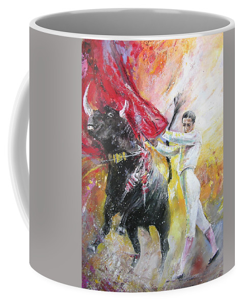Animals Coffee Mug featuring the painting Ole by Miki De Goodaboom