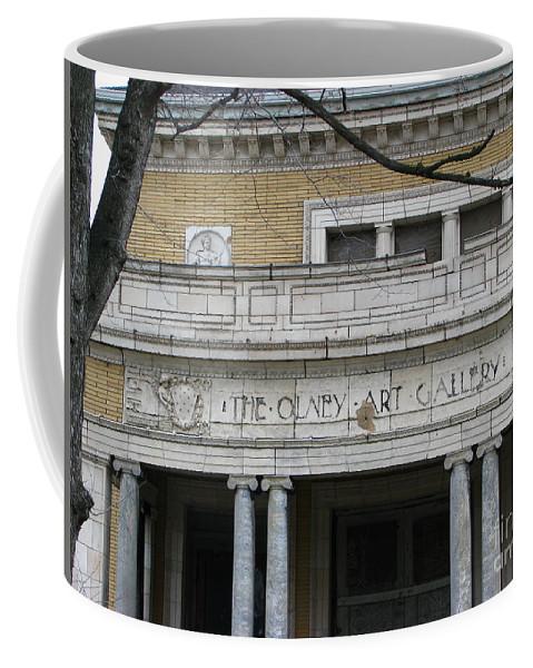 Olney Art Coffee Mug featuring the photograph Olney Art Gallery 2 by Michael Krek