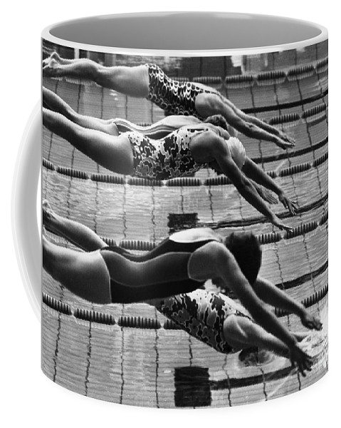 1972 Coffee Mug featuring the photograph Olympic Games, 1972 by Granger