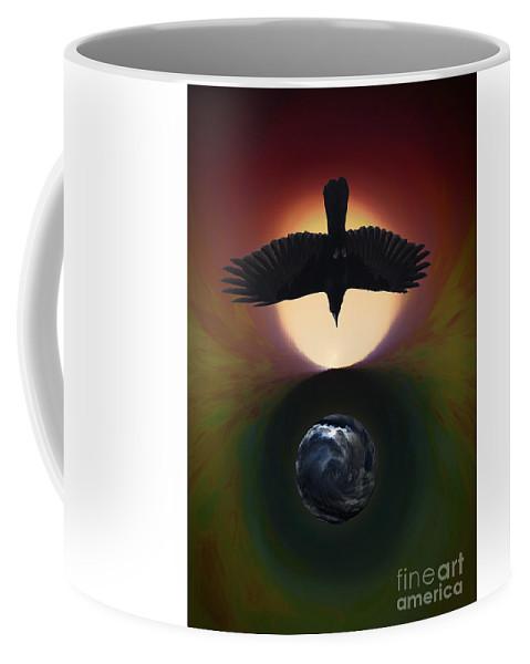 Earth Coffee Mug featuring the photograph Omen Us by Randy Waln