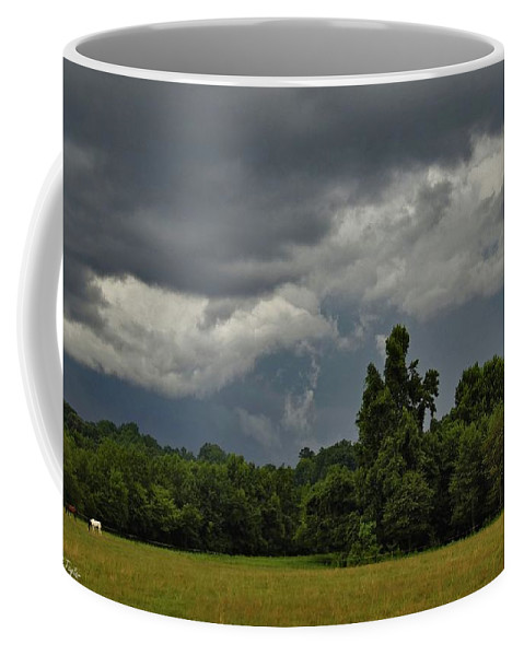 Nature Coffee Mug featuring the photograph Ominous Yet Not A Drop by Matt Taylor