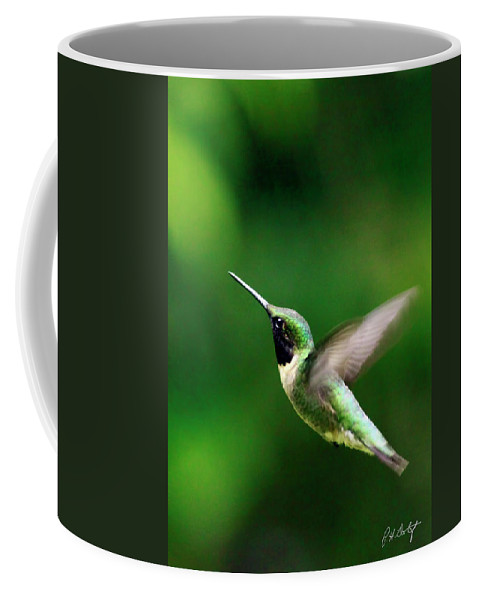 Canvas Coffee Mug featuring the photograph On Approach by Phill Doherty
