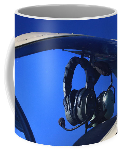 Aircraft Coffee Mug featuring the photograph On Standby by Karol Livote