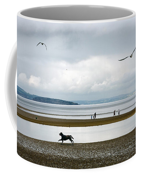 Beach Coffee Mug featuring the photograph On The Beach by Mal Bray