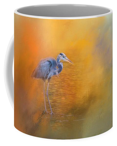 Jai Johnson Coffee Mug featuring the photograph On The Cusp Of Autumn by Jai Johnson