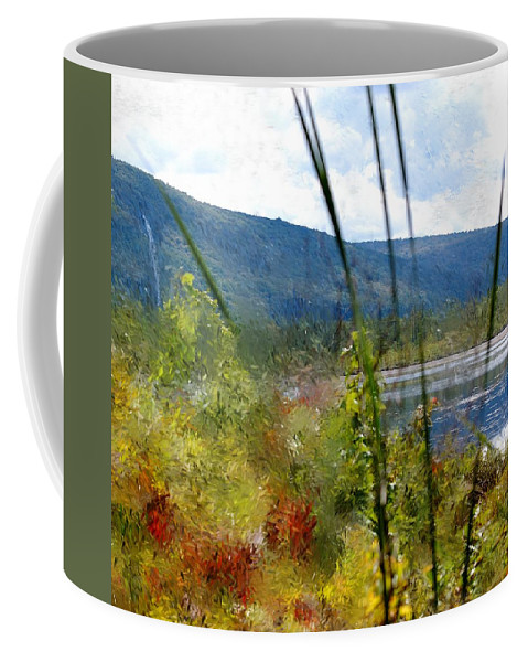 Digital Photograph Coffee Mug featuring the photograph On The Edge Of Reality by David Lane