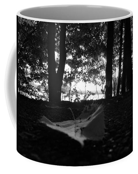 Coffee Mug featuring the photograph On The Edge by Trish Hale