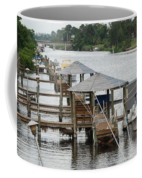 Boats Coffee Mug featuring the photograph On The Hillsboro Canal by Rob Hans