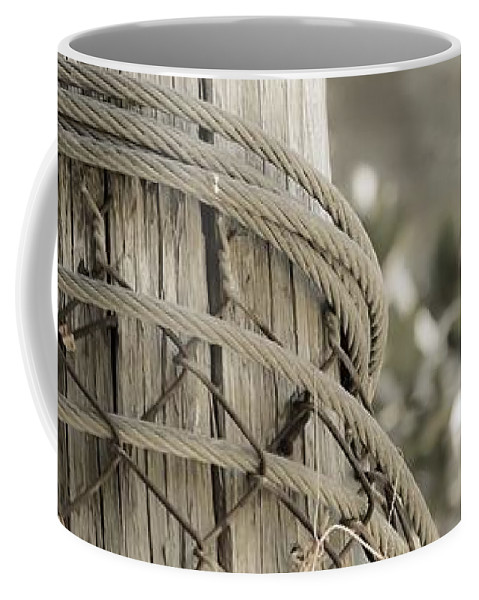 On The Ranch Coffee Mug featuring the photograph On The Ranch by Leah McPhail