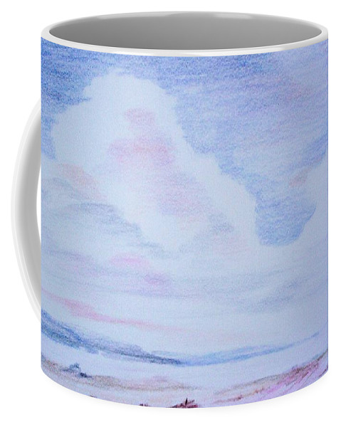 Landscape Painting Coffee Mug featuring the painting On the Way by Suzanne Udell Levinger