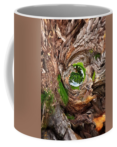 Tree Coffee Mug featuring the photograph Once A Tree by Pennie McCracken