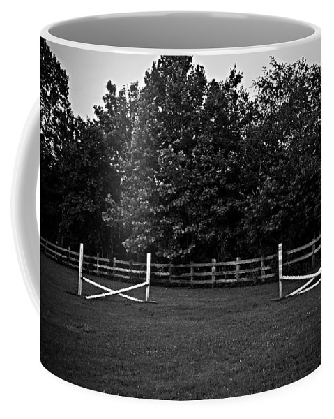 Fences Coffee Mug featuring the photograph Once Upon A Time by Hannah Breidenbach