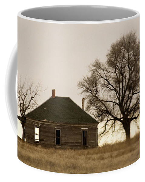 Americana Coffee Mug featuring the photograph Once Upon A Time In West Texas by Marilyn Hunt