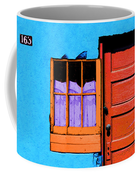 Abstract Coffee Mug featuring the photograph One 63 by Paul Wear