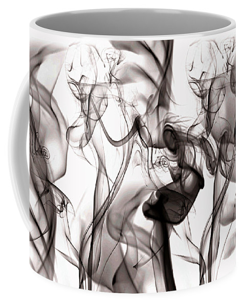 Clay Coffee Mug featuring the digital art One Among Many by Clayton Bruster