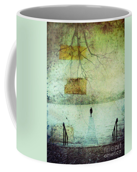 Man Coffee Mug featuring the photograph One Man In The Winter Of His Life by Tara Turner