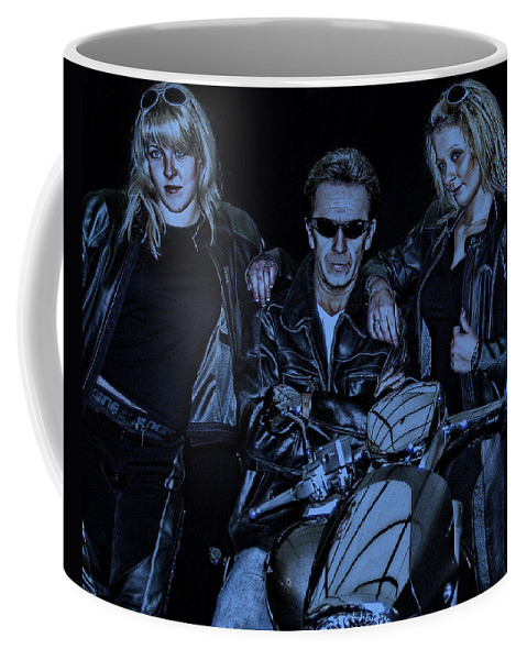 Girls Coffee Mug featuring the photograph One-non-blond by Joachim G Pinkawa