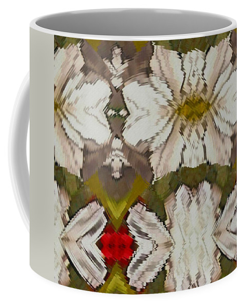 China Coffee Mug featuring the mixed media One Of A Kind by Pepita Selles