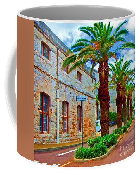 Bermuda Coffee Mug featuring the photograph One Way by Debbi Granruth