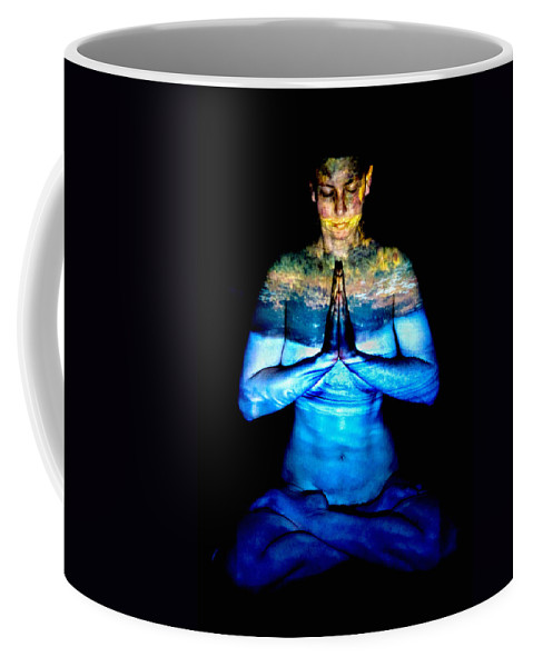 Nature Coffee Mug featuring the photograph One With Nature by Greg Fortier