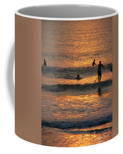 Art For The Wall...patzer Photography Coffee Mug featuring the photograph One With Nature by Greg Patzer