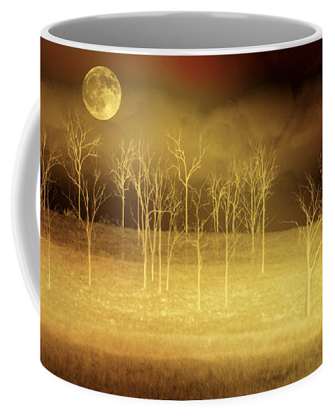 Landscapes Coffee Mug featuring the photograph Only At Night by Holly Kempe