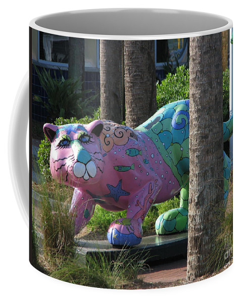 Patzer Coffee Mug featuring the photograph Only At The Beach by Greg Patzer