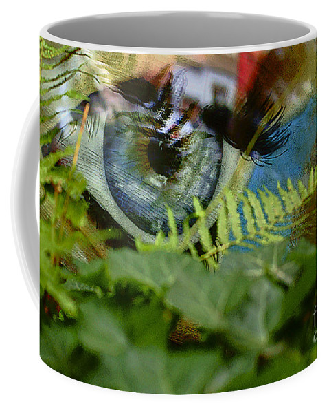 Eyes Coffee Mug featuring the photograph Open Your Eyes. by Alexander Vinogradov