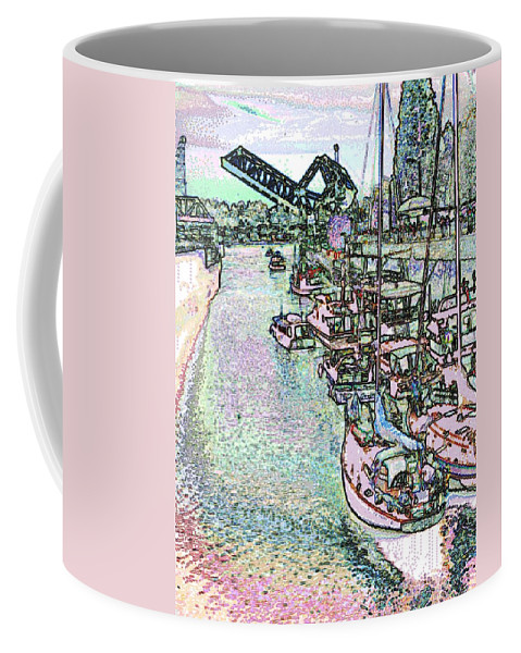 Seattle Coffee Mug featuring the photograph Opening Day Of Boating by Tim Allen