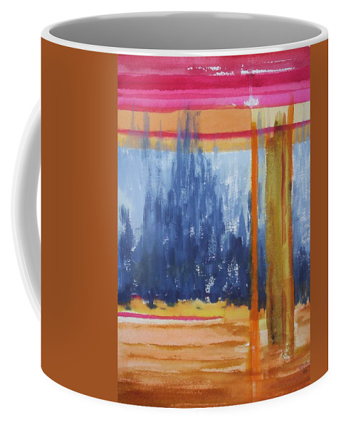Landscape Coffee Mug featuring the painting Opening by Suzanne Udell Levinger