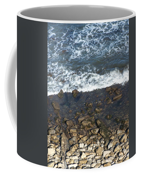 Ocean Coffee Mug featuring the photograph Opponents by Shari Chavira