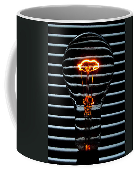 Orange Coffee Mug featuring the photograph Orange Bulb by Rob Hawkins