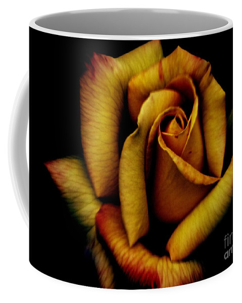 Rose Coffee Mug featuring the photograph Orange Delight by Charleen Treasures