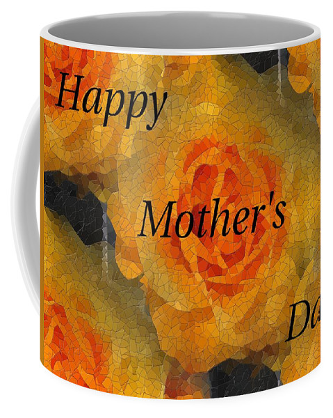 Mother's Day Coffee Mug featuring the digital art Orange You Lovely Mothers Day by Tim Allen