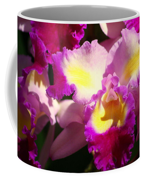 Flower Coffee Mug featuring the photograph Orchid 1 by Marty Koch