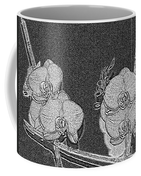 Orchid Coffee Mug featuring the photograph Orchid 3 by Tim Allen