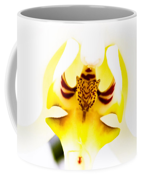 Flower Coffee Mug featuring the photograph Orchid by Ches Black