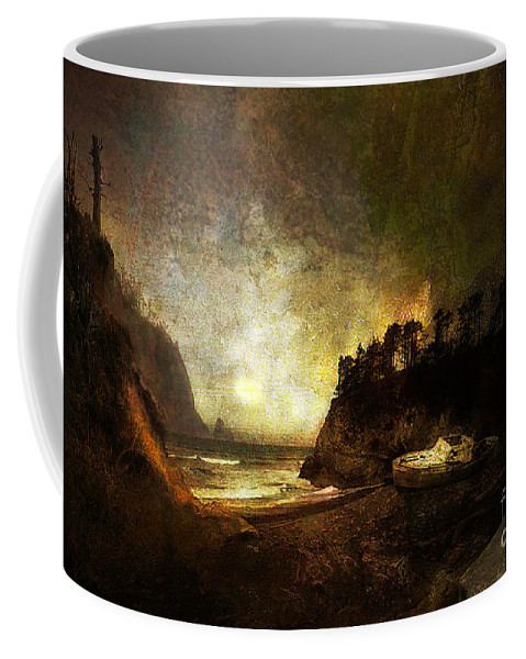 Oregon Coffee Mug featuring the photograph Oregon Beach by Jeff Burgess