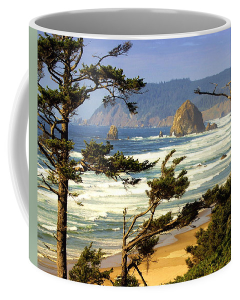 Ocean Coffee Mug featuring the photograph Oregon Coast 15 by Marty Koch