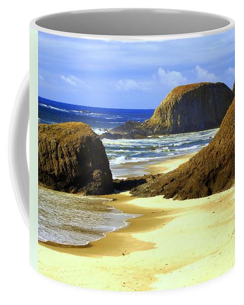 Ocean Coffee Mug featuring the photograph Oregon Coast 18 by Marty Koch